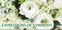C & J Florist has a wide selection of sympathy flowers available for purchase and delivery.