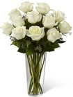 The FTD White Rose Bouquet