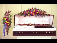 Rainbow of Rememberance Open Casket Cover